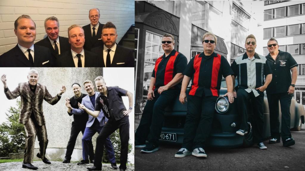 Esakallion Vappuaatto: Pekka Tiilikainen & Beatmakers, Toni Rossi & Sinitaivas ja The Sleepwalkers & Jani Forsman